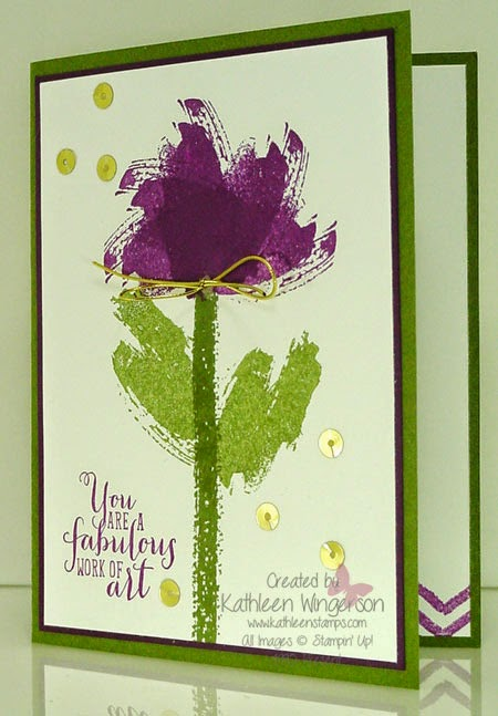 Order Stamps Online >> Work of Art - Stampin' Up! Advanced Workshop Preview #1 of ...