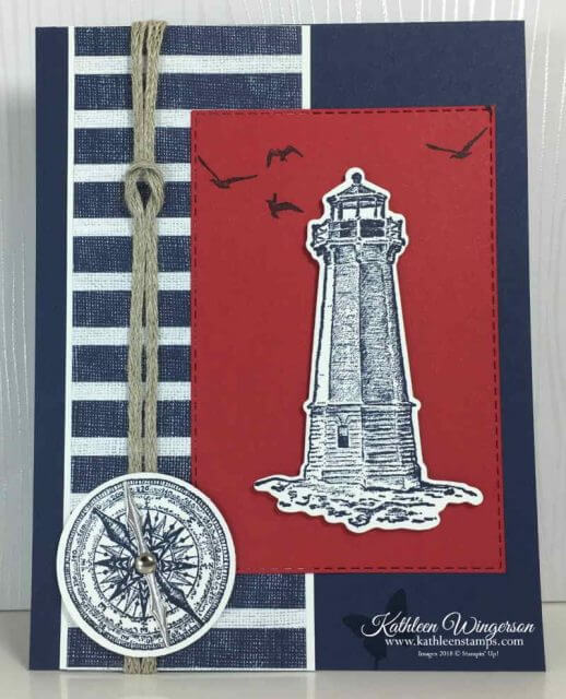 Sailing Home Masculine Birthday Card
