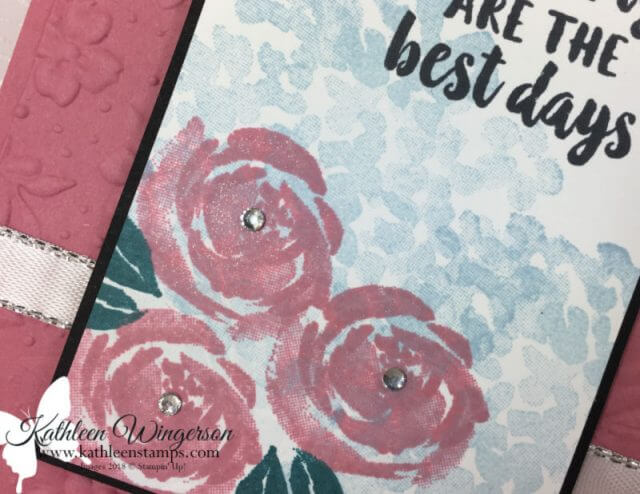 Birthday card using the Beautiful Friendship stamp set from Stampin' Up! by Kathleen Wingerson