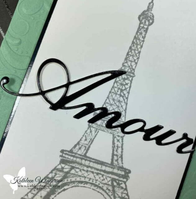 Parisian Beauty Amour Card