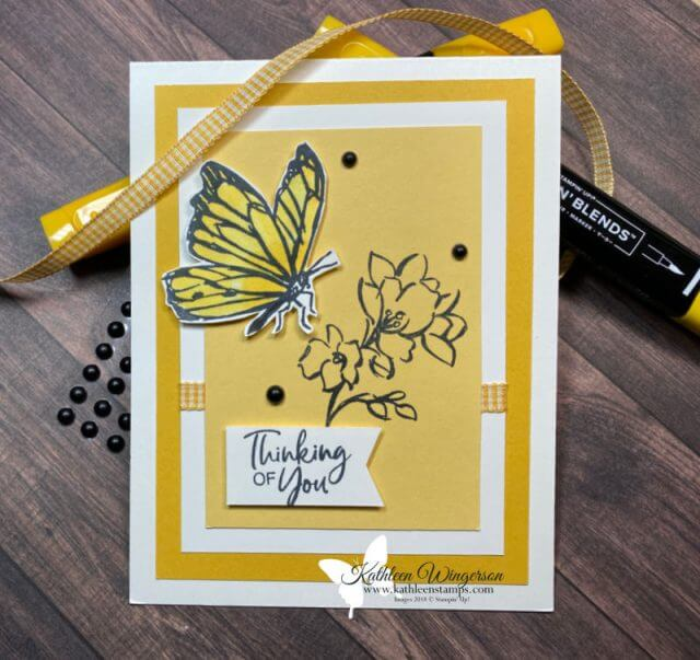 A Touch of Ink Thinking of You Card