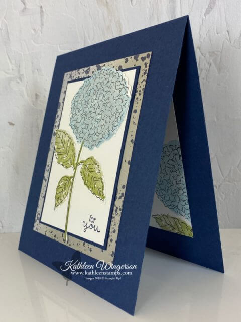 Hydrangea For You Card
