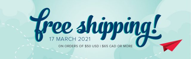 One Day Only Free Shipping