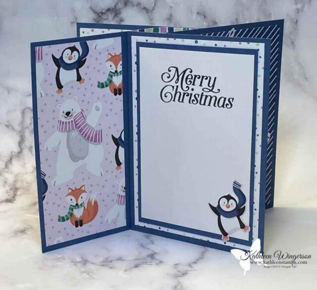 Penguin Place Christmas Pinwheel Tower